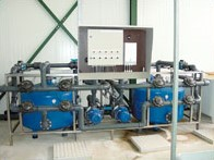 Zandfilterinstallatie